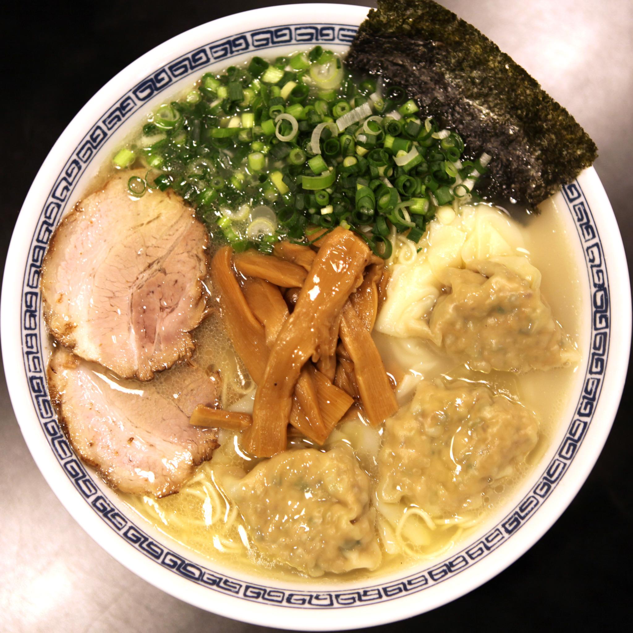 焼叉雲呑麺
